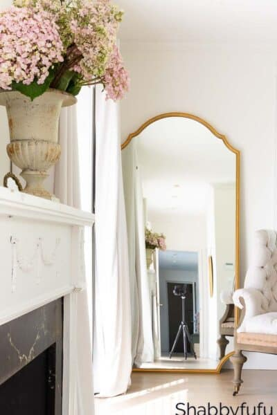 decorating with mirrors capelle leaner mirror