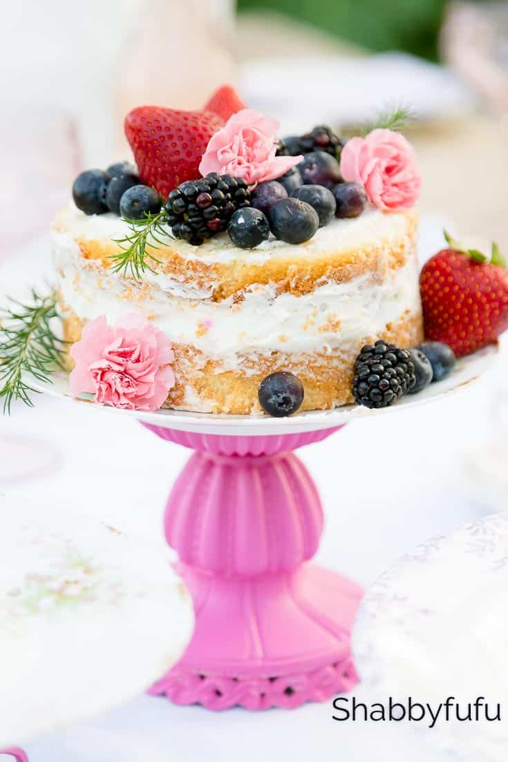 easy diy cake stands weddings