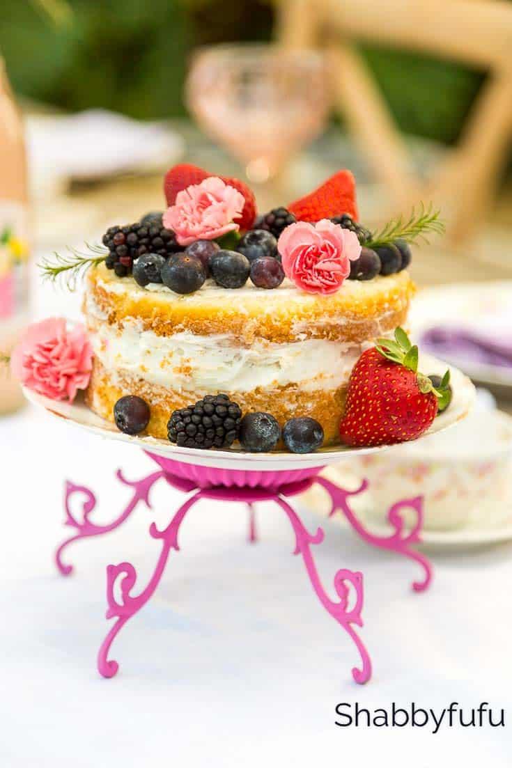 easy diy cake stands weddings