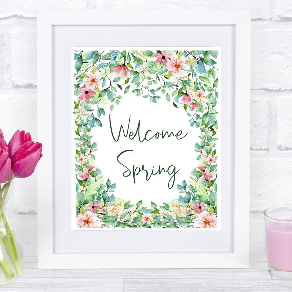 free spring printable shabbyfufu