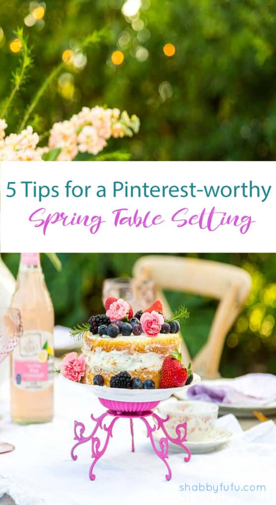 outdoor table setting ideas for spring shabbyfufu