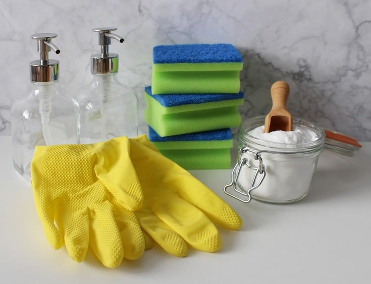 cleaning with natural products borax