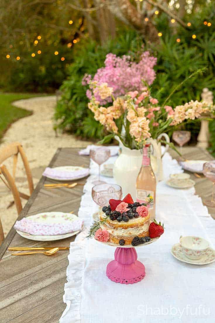 beautiful outdoor tables wedding