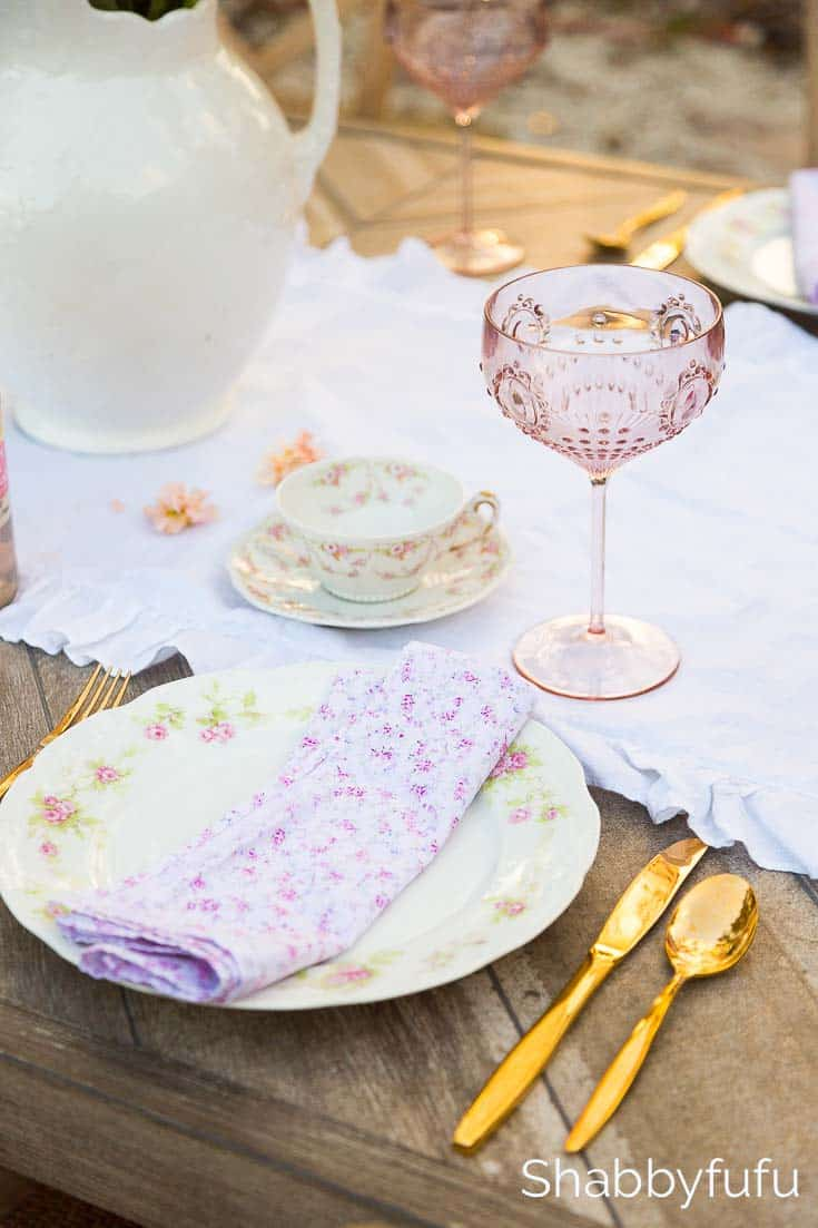 french country tablescape ideas