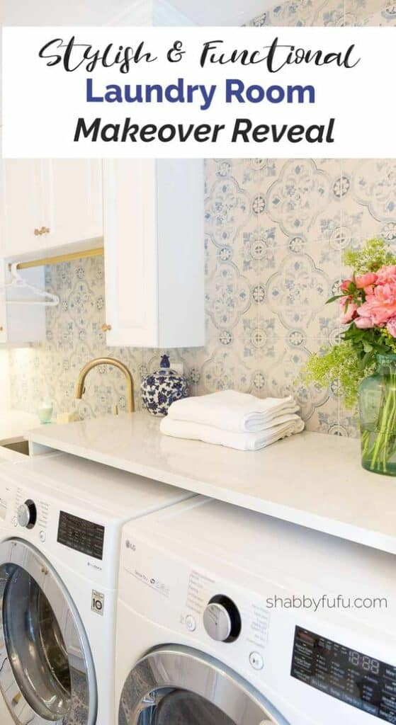 stylish functional laundry room shabbyfufu