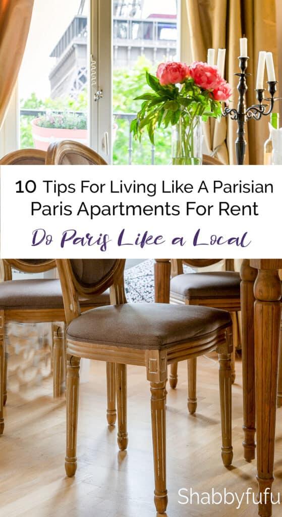 10 Tips For Living Like A Parisian