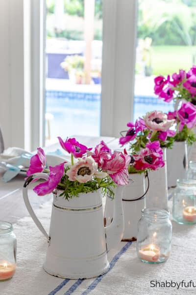 Parisian style table setting