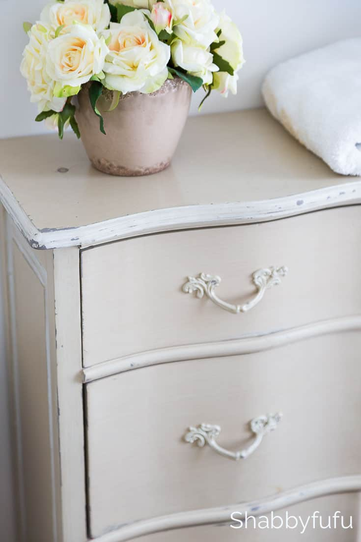 french grey dresser