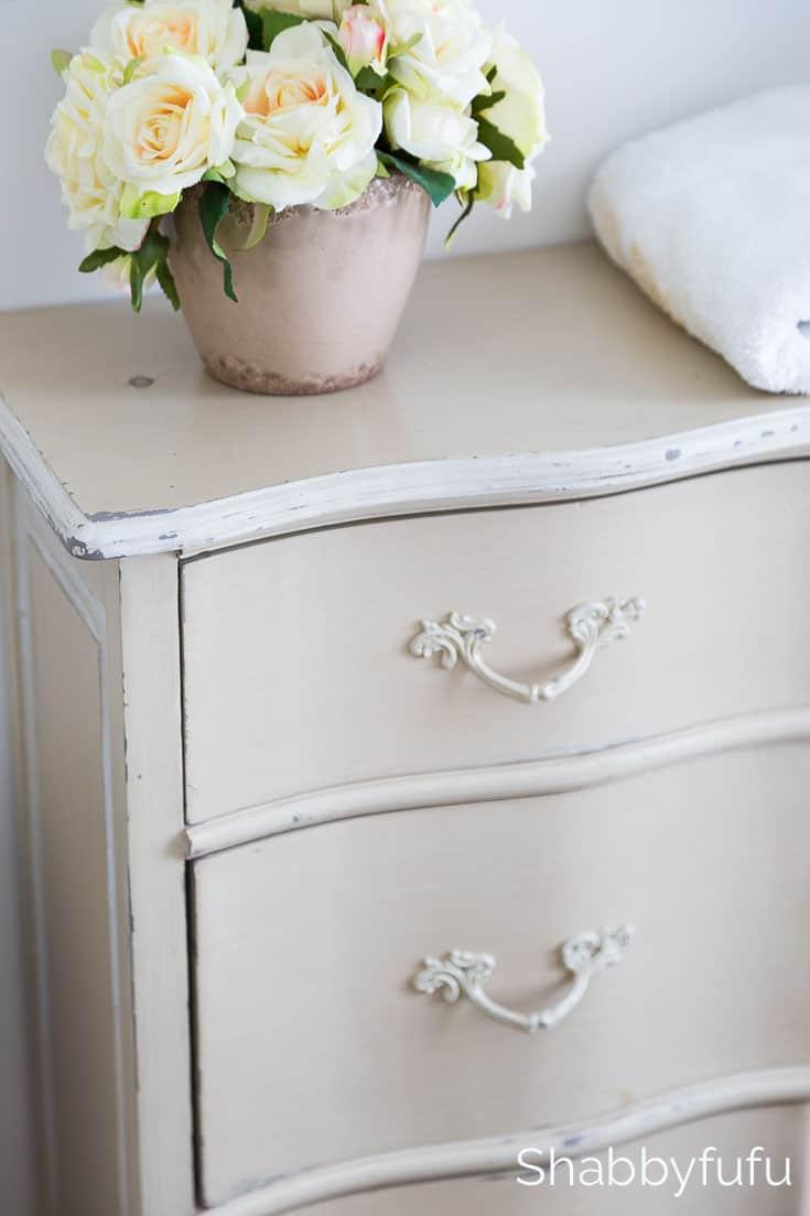 french grey dresser