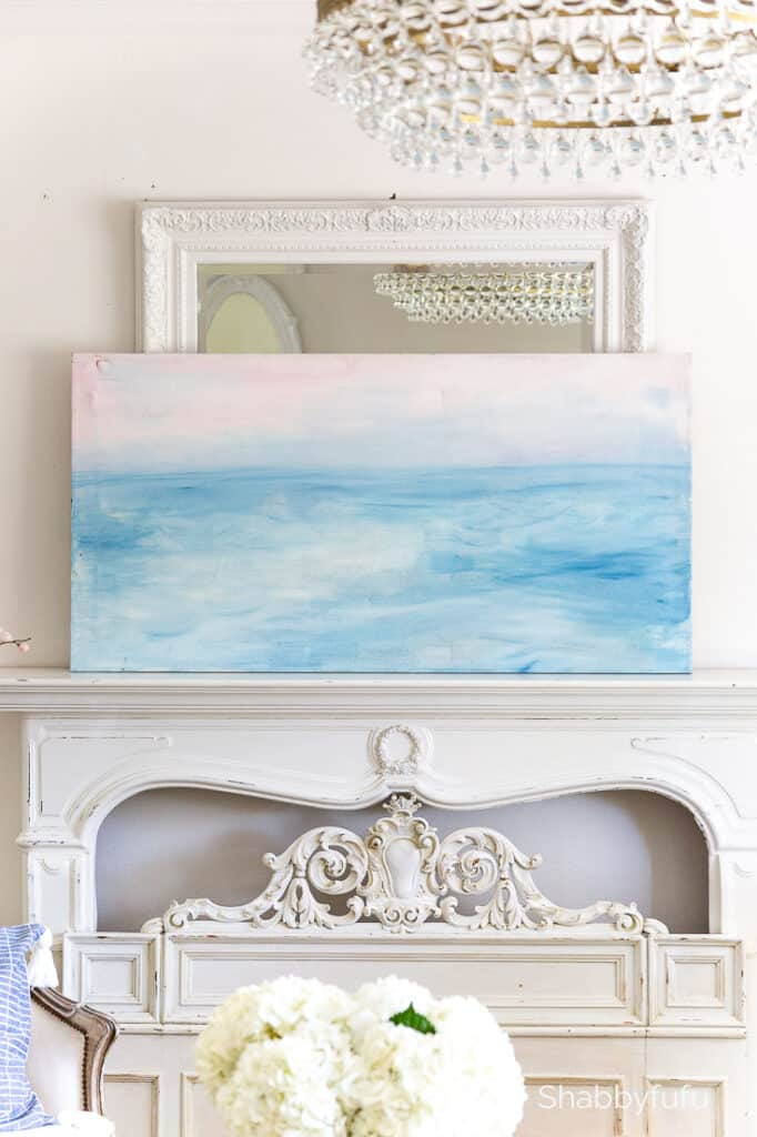 beach painting canvas dropcloth shabbyfufu-2