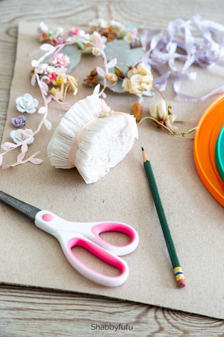 wreath making ideas supplies