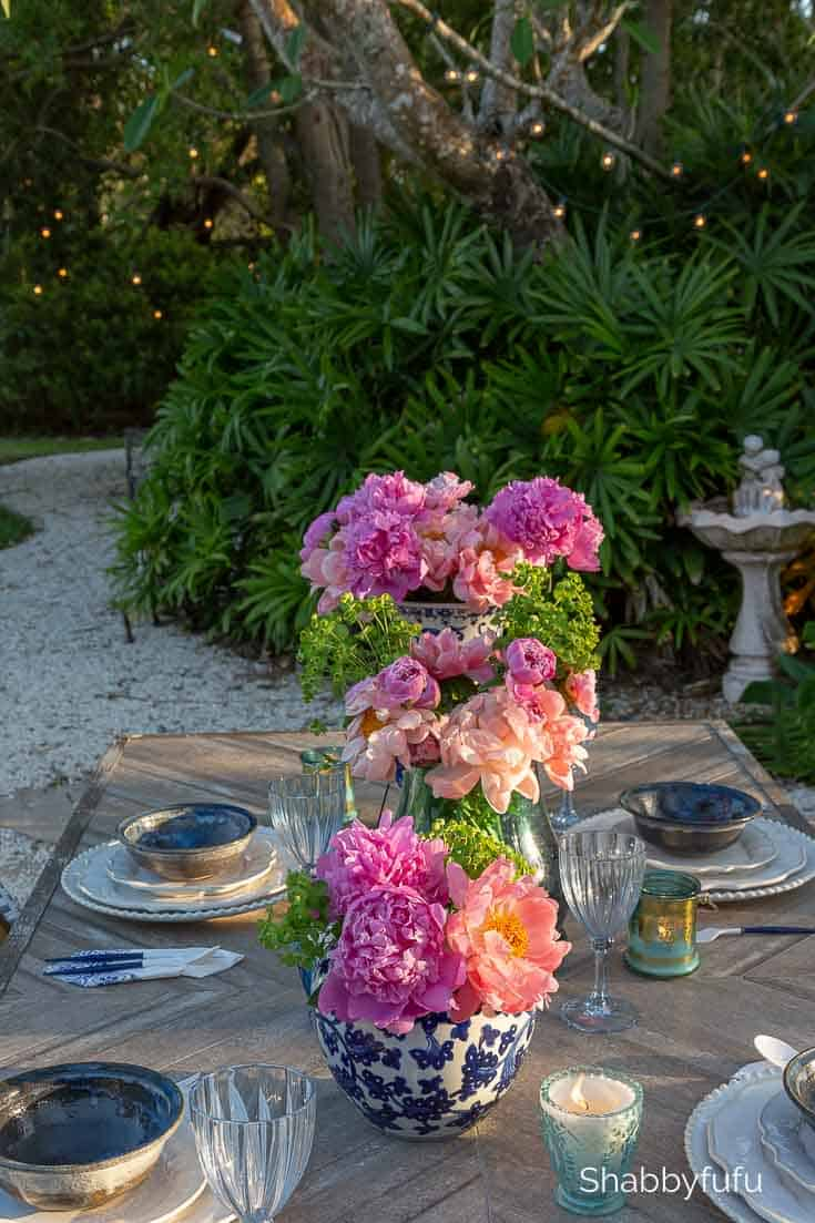 outdoor summer table setting ideas and tips