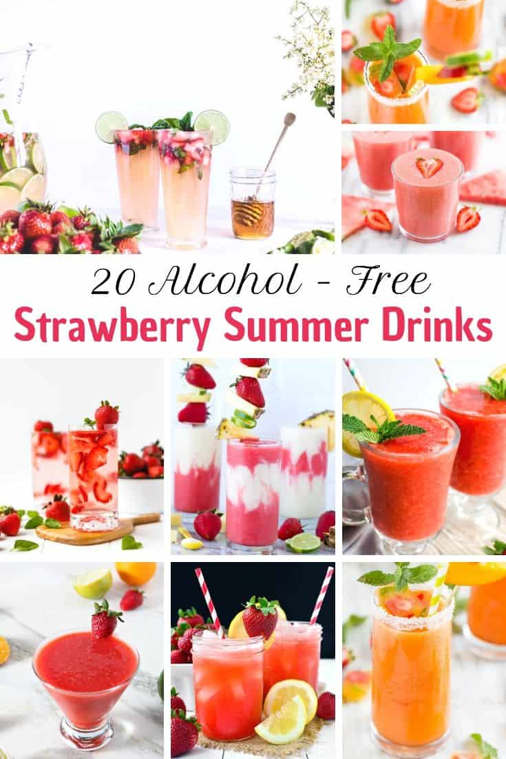 alcohol free summer drink recipes