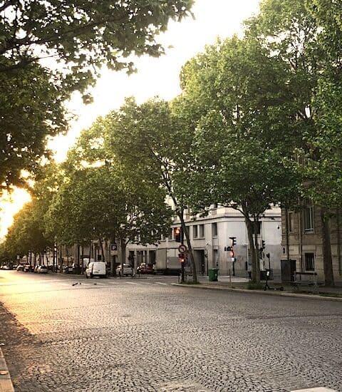 Paris at sunrise