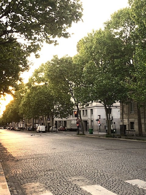 Paris day trips at sunrise