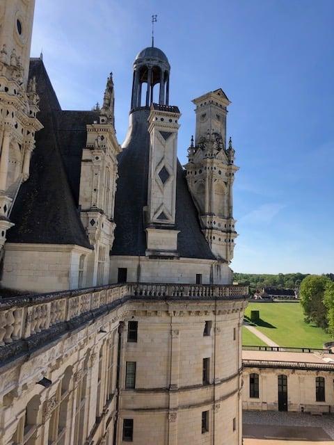 Loire valley castles Chambord