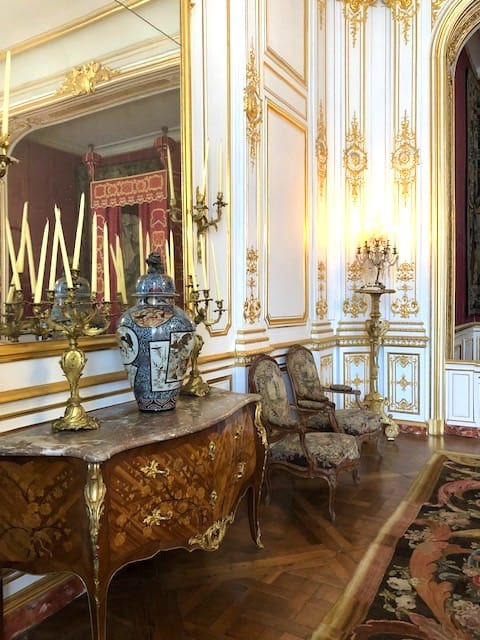 Loire Valley castles interiors