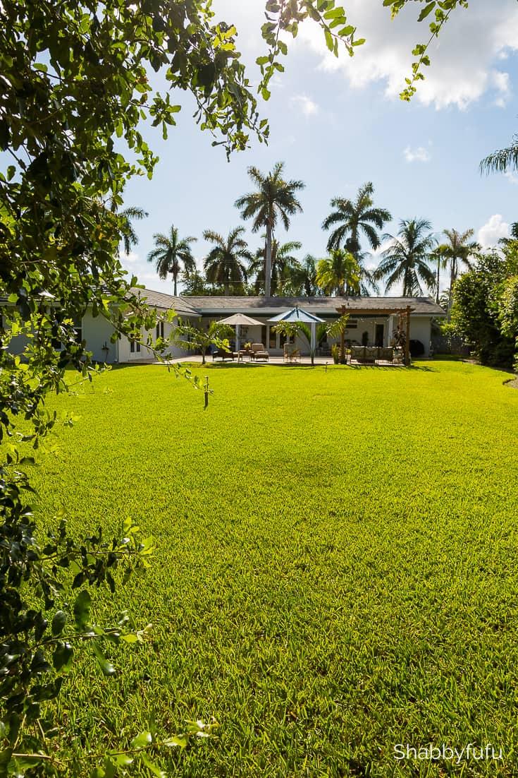living in florida the garden