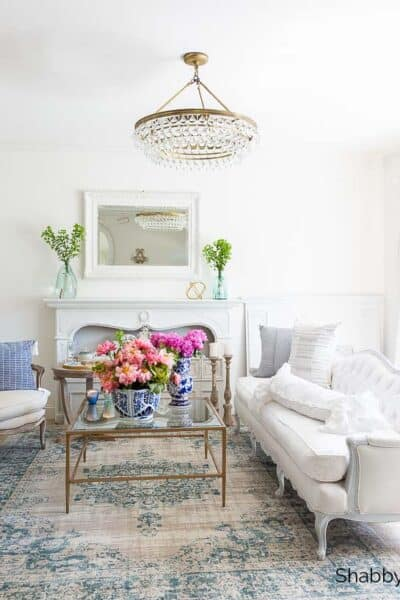 summer home tour coastal french style