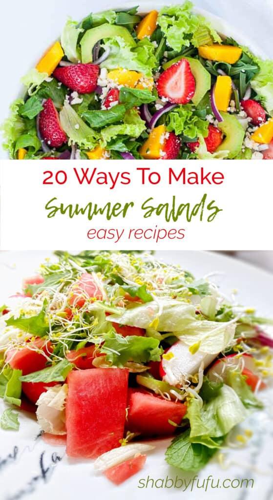 20 Ways To Make A Summer Salad - Recipes