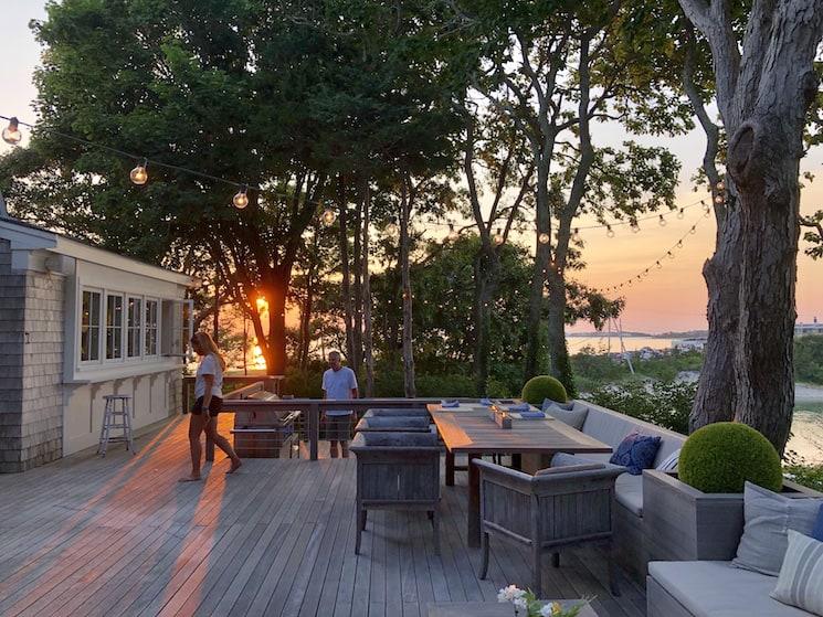 deck cape cod coastal home decor