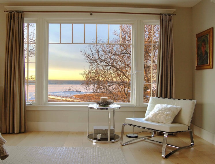 master bedroom view coastal home decor