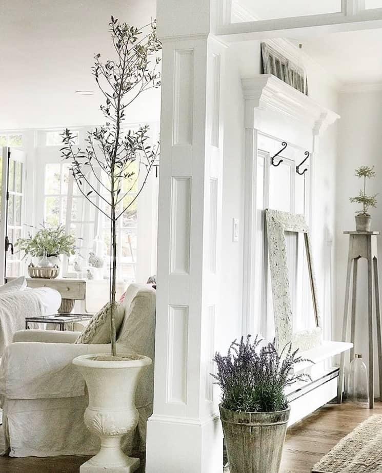 minimalist new england style decor
