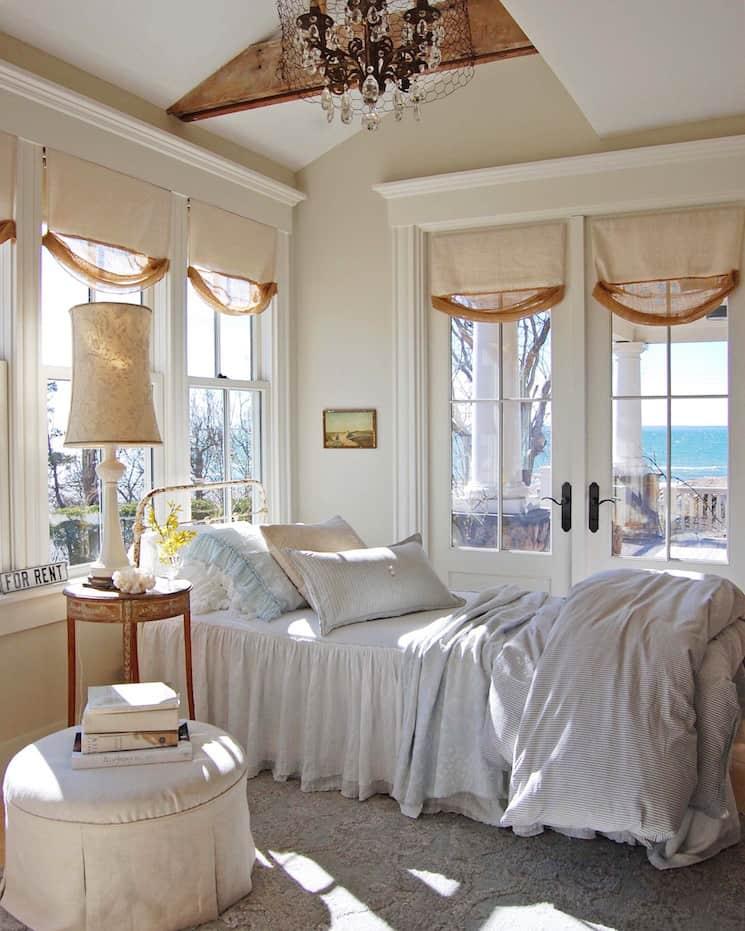 sleeping porch coastal home decor