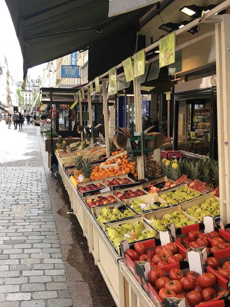 rue cler market paris