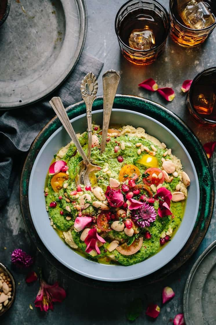 summer salad with beans