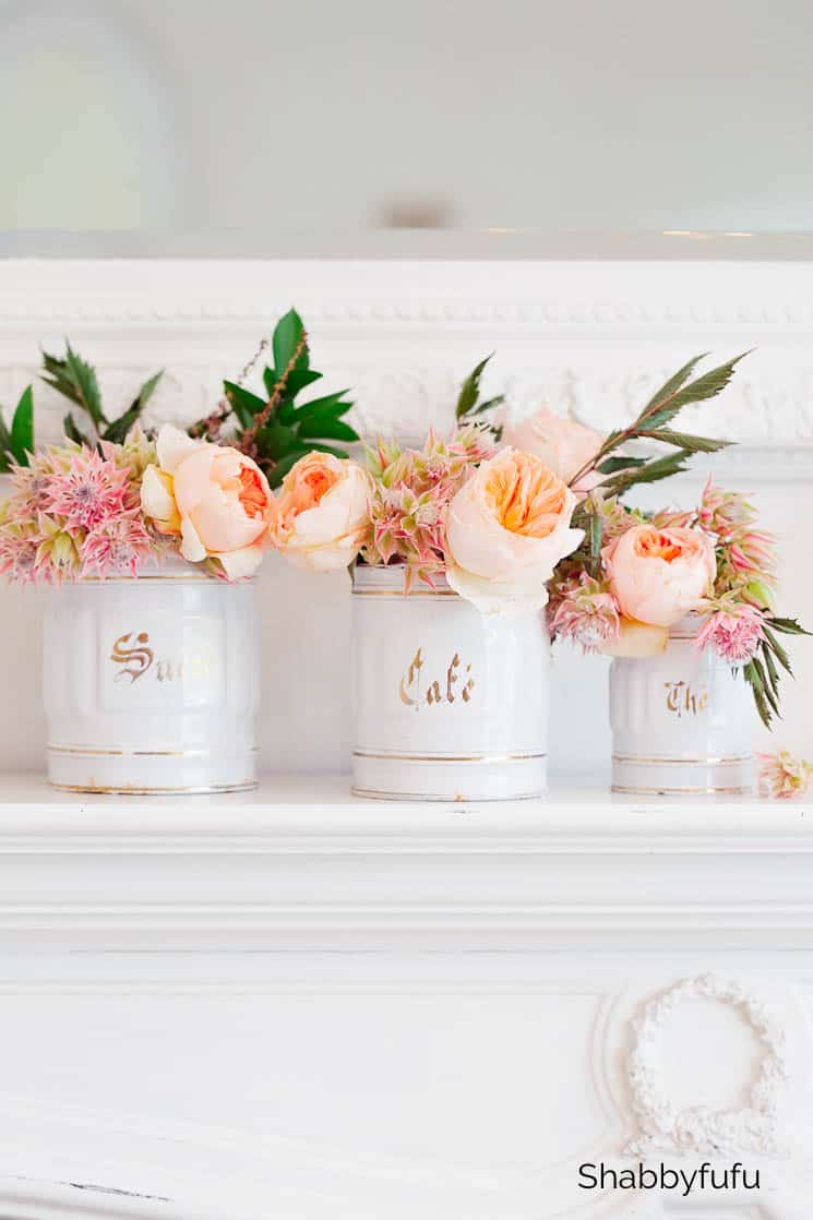 canisters unique ways to display flowers