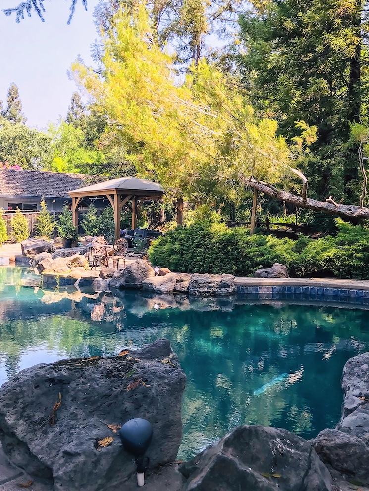 beautiful northern California home pool