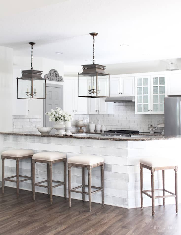 modern french country decor kitchen