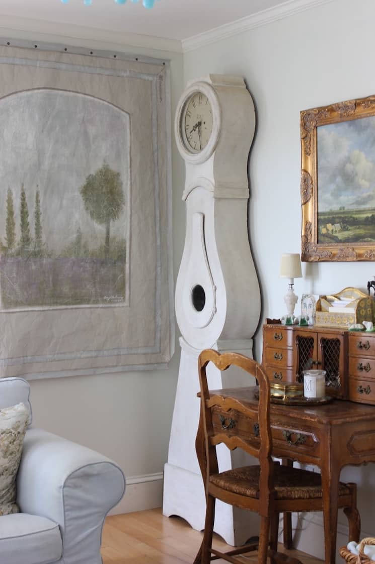 french country home tour mora clock