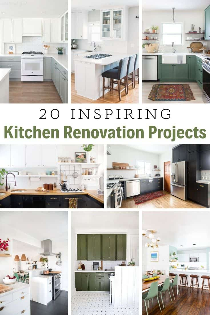 20 kitchen renovations on a budget