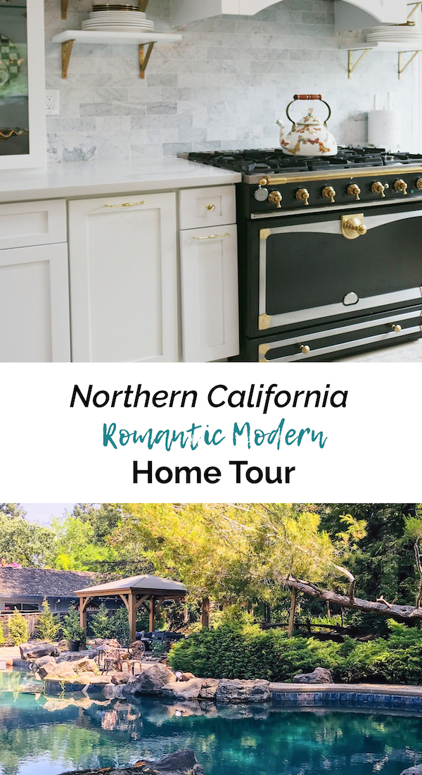 Northern California Romantic - Home Tour