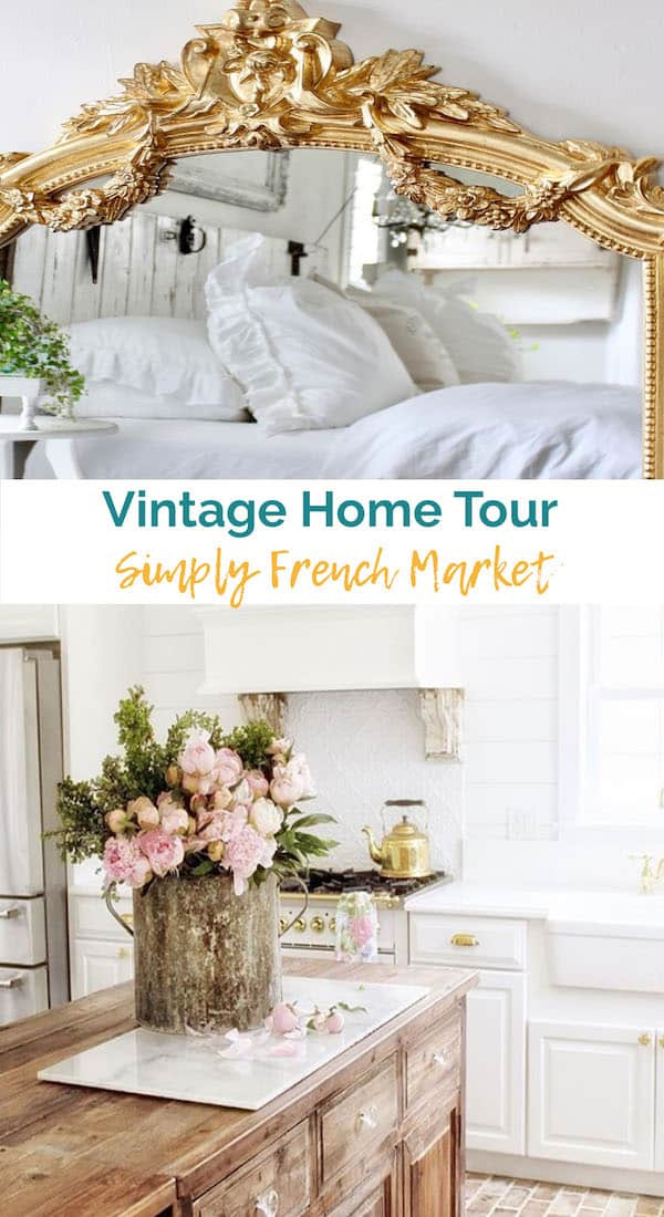 Vintage Home – Simply French Market Tour at shabbyfufu.com