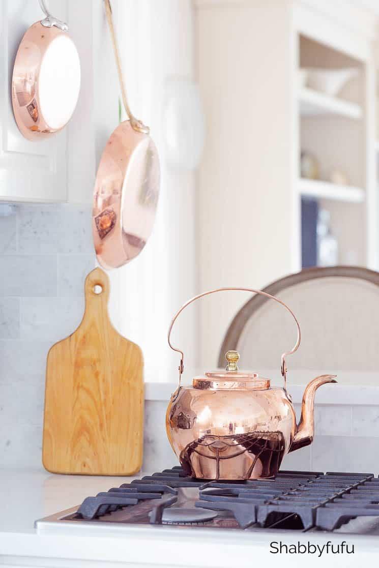 copper home accessories kitchen