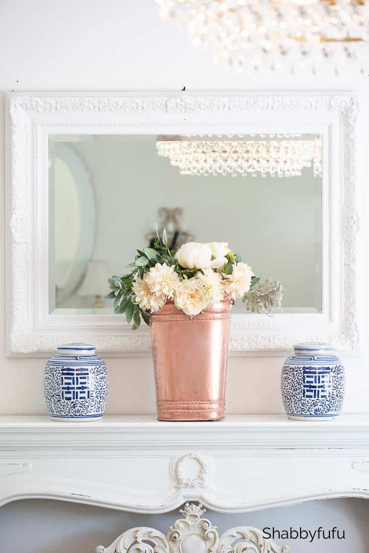 copper home accessories fall decorating