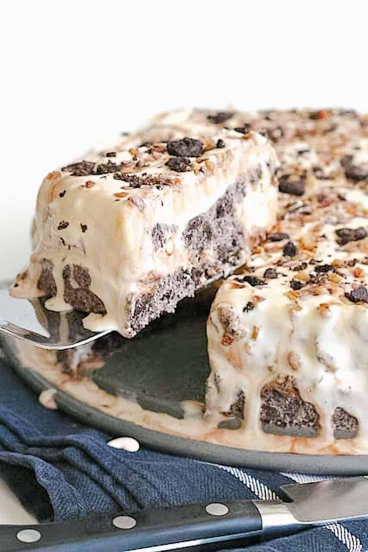 delicious ice cream pie