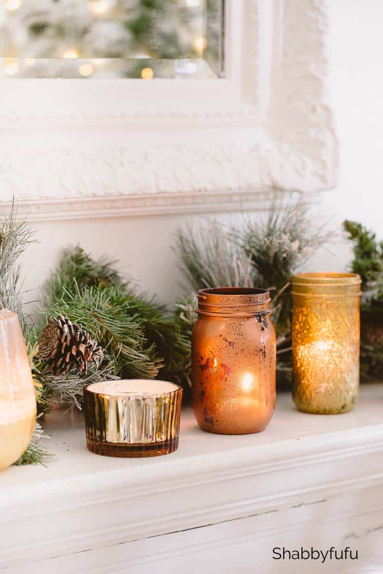 paint jars for fall