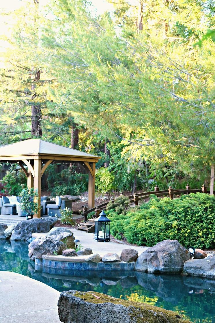 suburban san francisco living outdoors