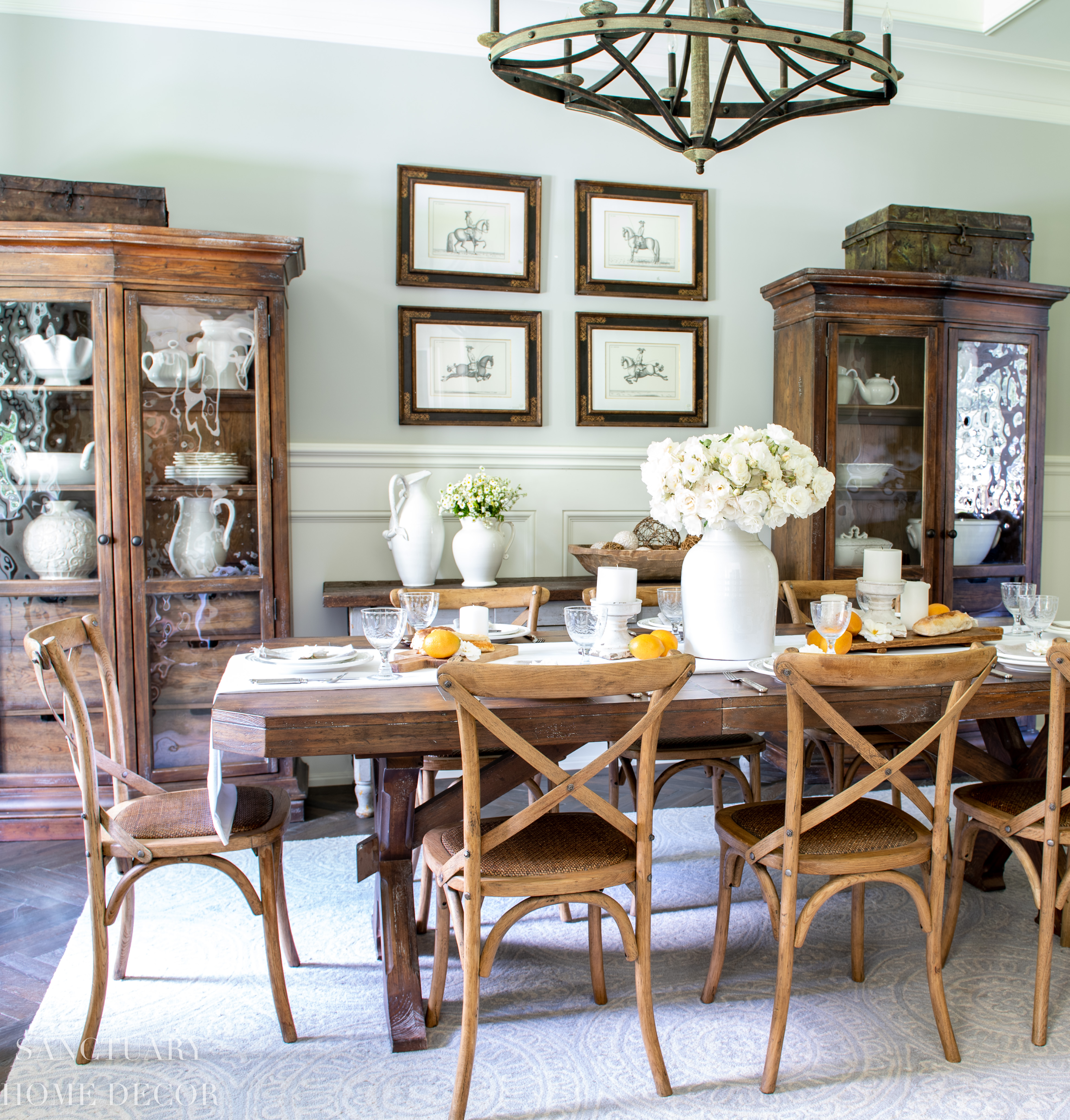 sanctuary home decor dining room