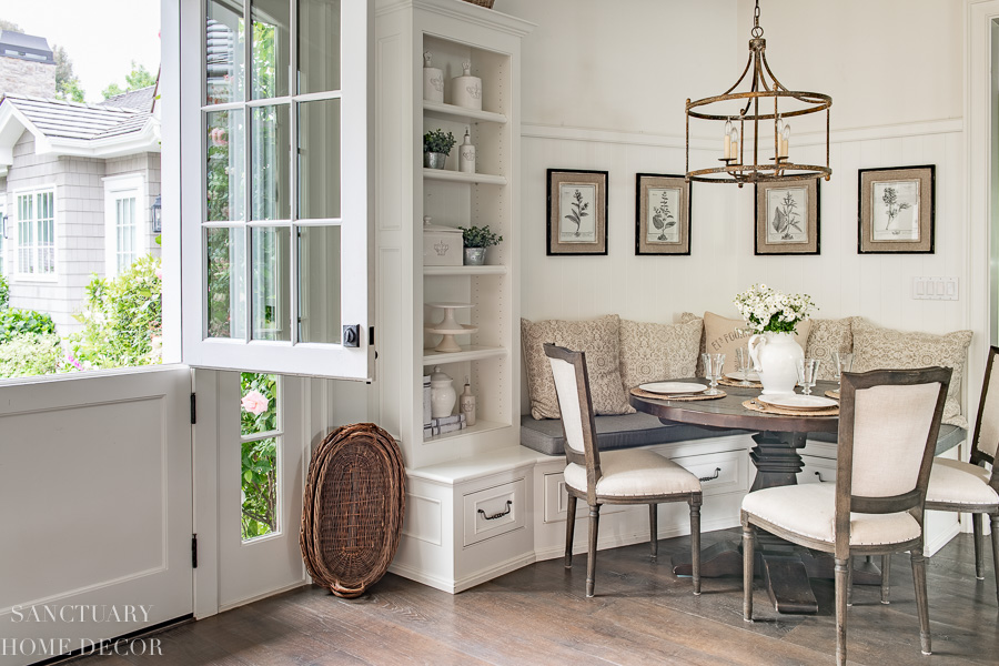 sanctuary home decor breakfast nook