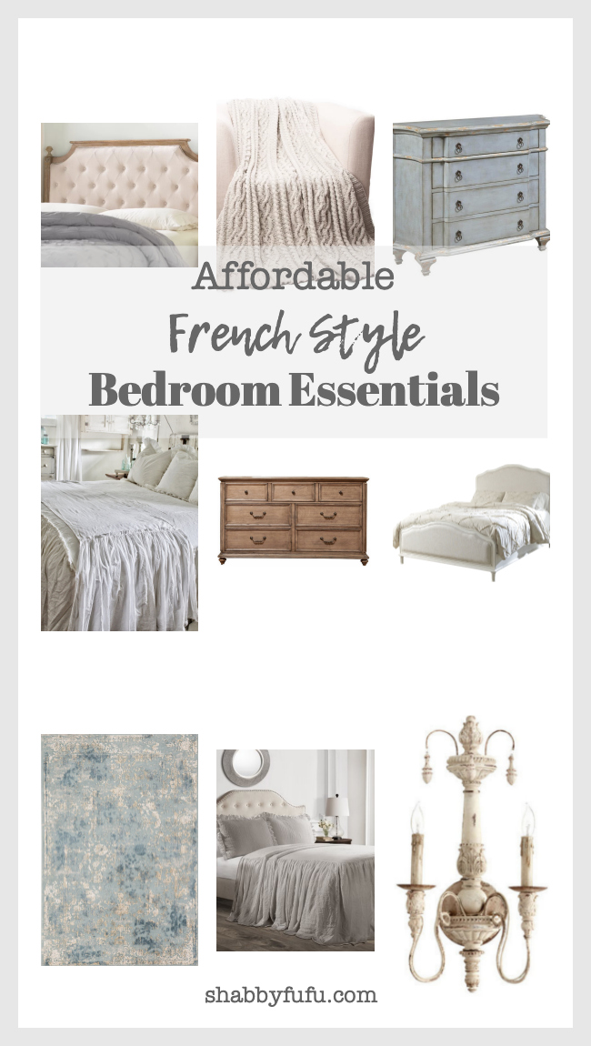 affordable french style bedroom furniture and accessories