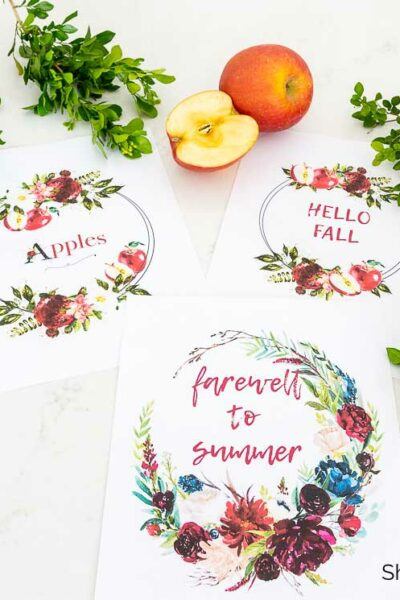 free fall printables set of 3
