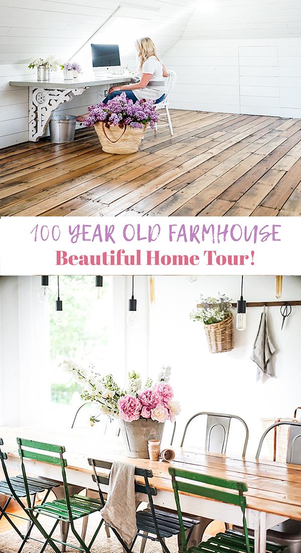 old farmhouse home tour