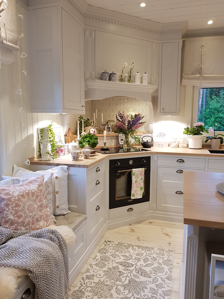Scandinavian decor home tour kitchen