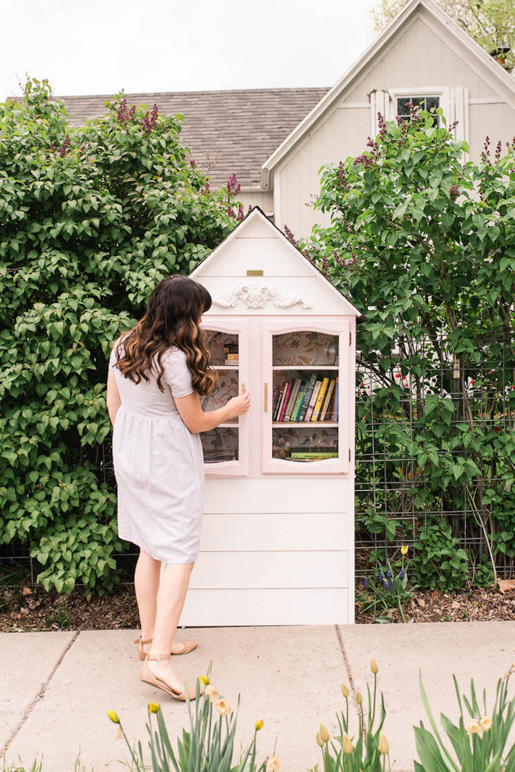 outdoor free library ideas