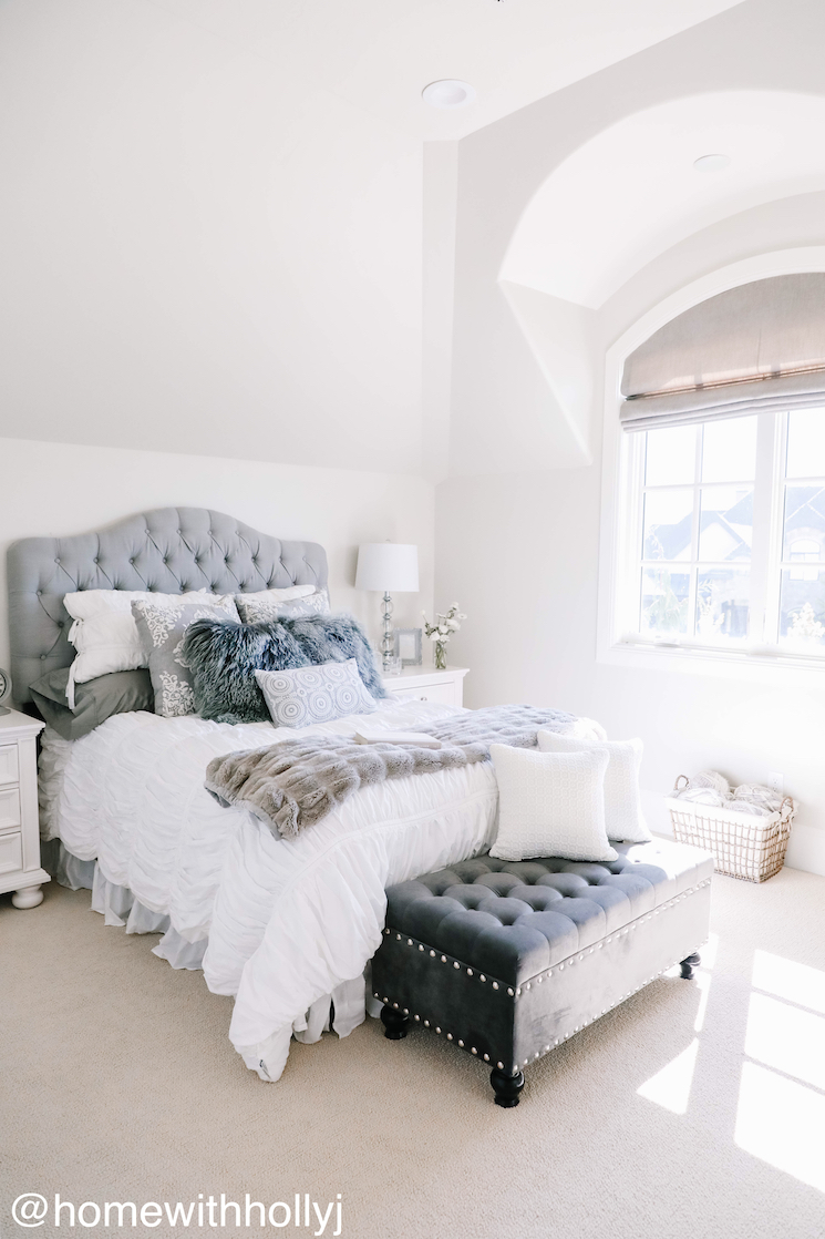 gorgeous Utah home guest room